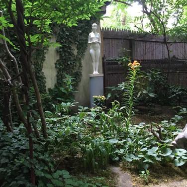 Randall Harris, Figureworks Garden in Summer
