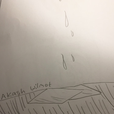 Akash Wilmont, Guided Visualization (a gift), 2020, pencil on paper