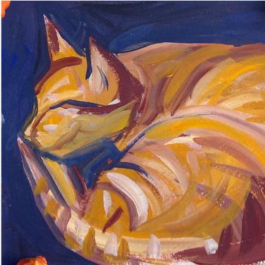 Marie Roberts, Red Cat = Money Cat