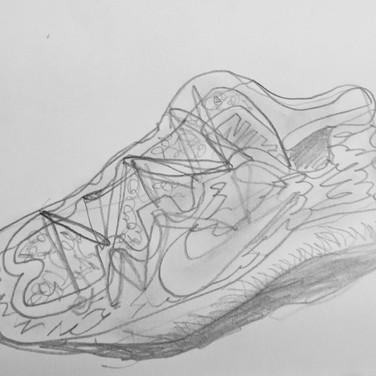 Contour Shoe, Advanced Studio Zoom May 4, 2020