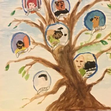 Jane Huntington, Social Tree