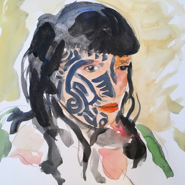 Meridith McNeal, Angelica Portrait 2, Advanced Studio Zoom, Apr. 27, 2020