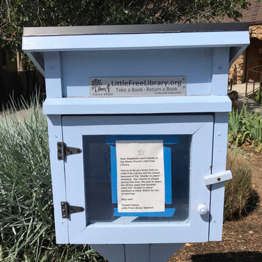 Marilyn August, Little Free Library
