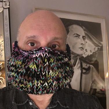 "Dennis Buonagura, ""Knitted Mask"", 2020"