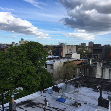 Evelyn Beliveau, Brooklyn Rooftop View, May 2020