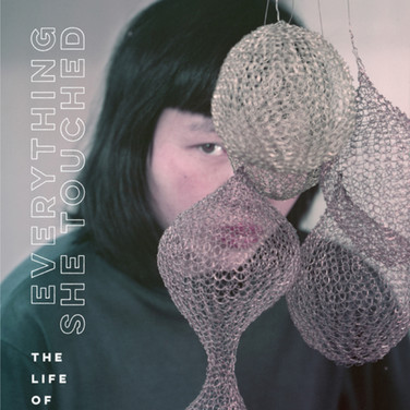 Bookcover Everything She Touched The Life of Ruth Asawa, photograph Meridith to all