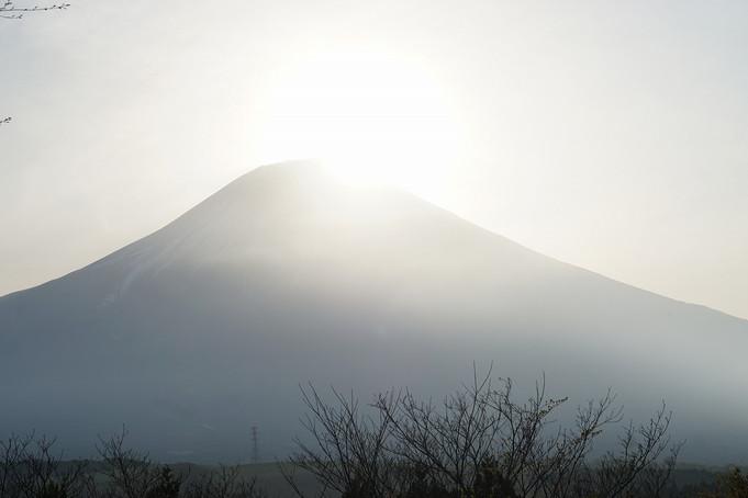 富士と太陽