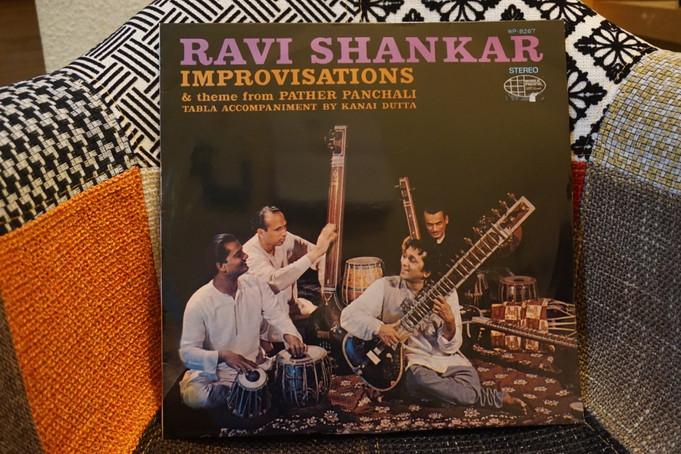 Ravi Shankar「Improvisations」(1962)