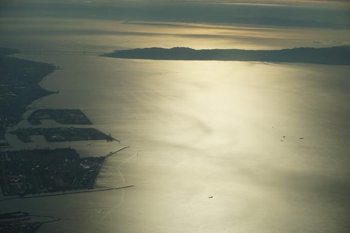 空から海へ 直島へ