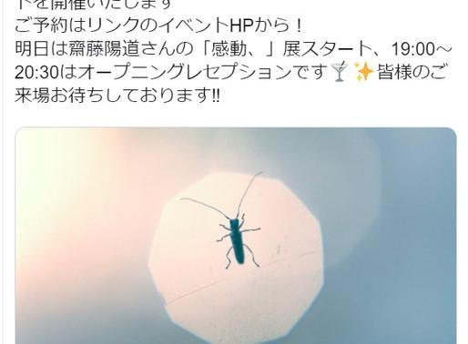 齋藤陽道『感動、』(2019.12.20—2020.02.02)@NADiff a/p/a/r/t