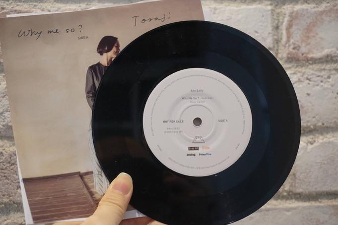 アン・サリーさんとレコード