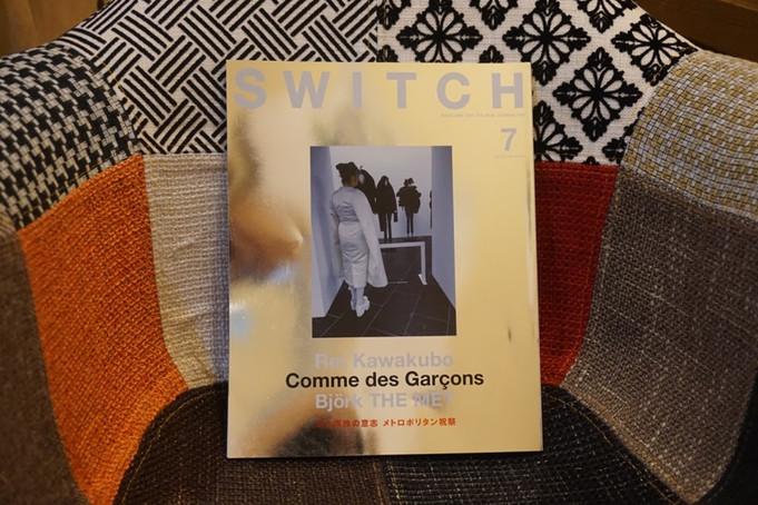 SWITCH Vol.35 No.7 MET EXHIBITS STORIES Rei Kawakubo / Comme des Garçons 川久保玲の意志 メトロポリタン祝祭