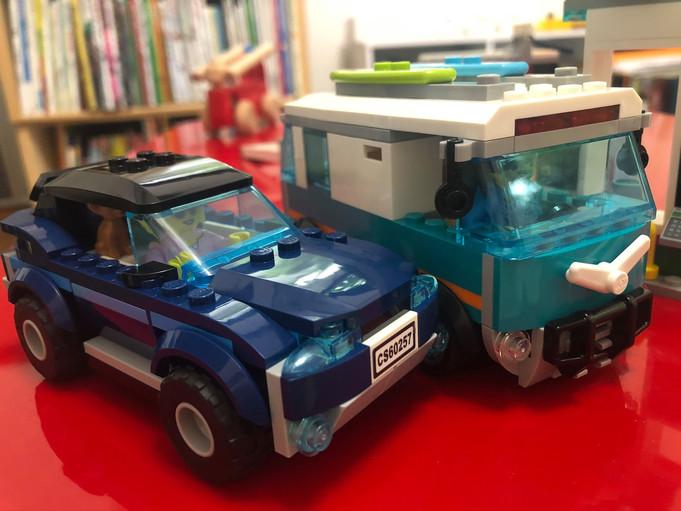 LEGOは時空を超えて