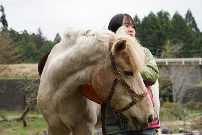 馬に乗り命を共有する@EPO Farm