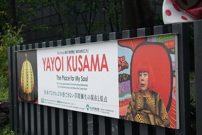 「草間彌生 魂のおきどころ」@松本市美術館