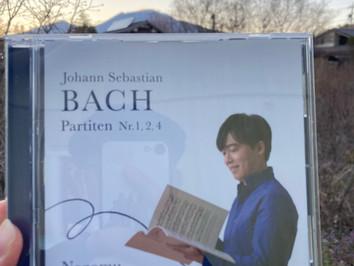 髙橋望『J.S.Bach パルティータ 第1、2、4番』