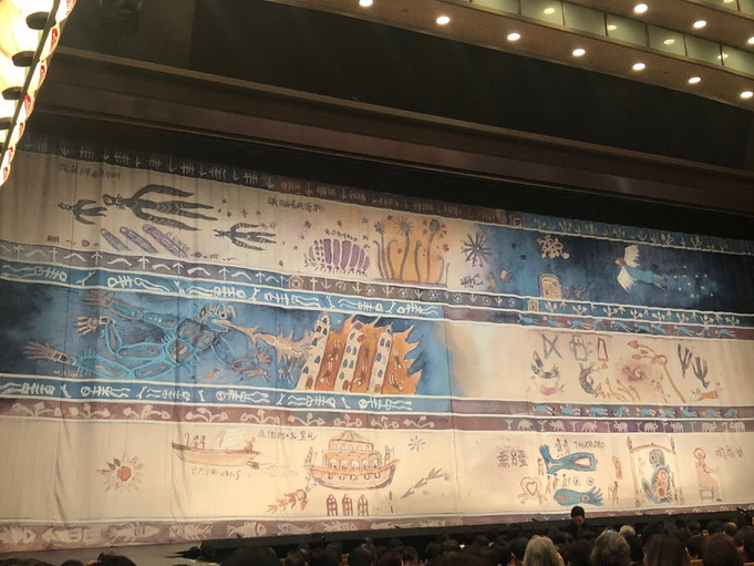 新作歌舞伎『風の谷のナウシカ』@新橋演舞場