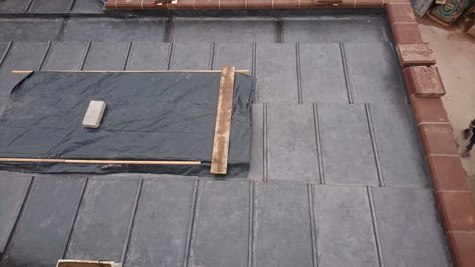 New Lead Flat Roof