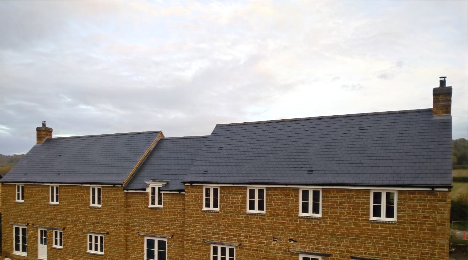 Slate new build roofs Tysoe