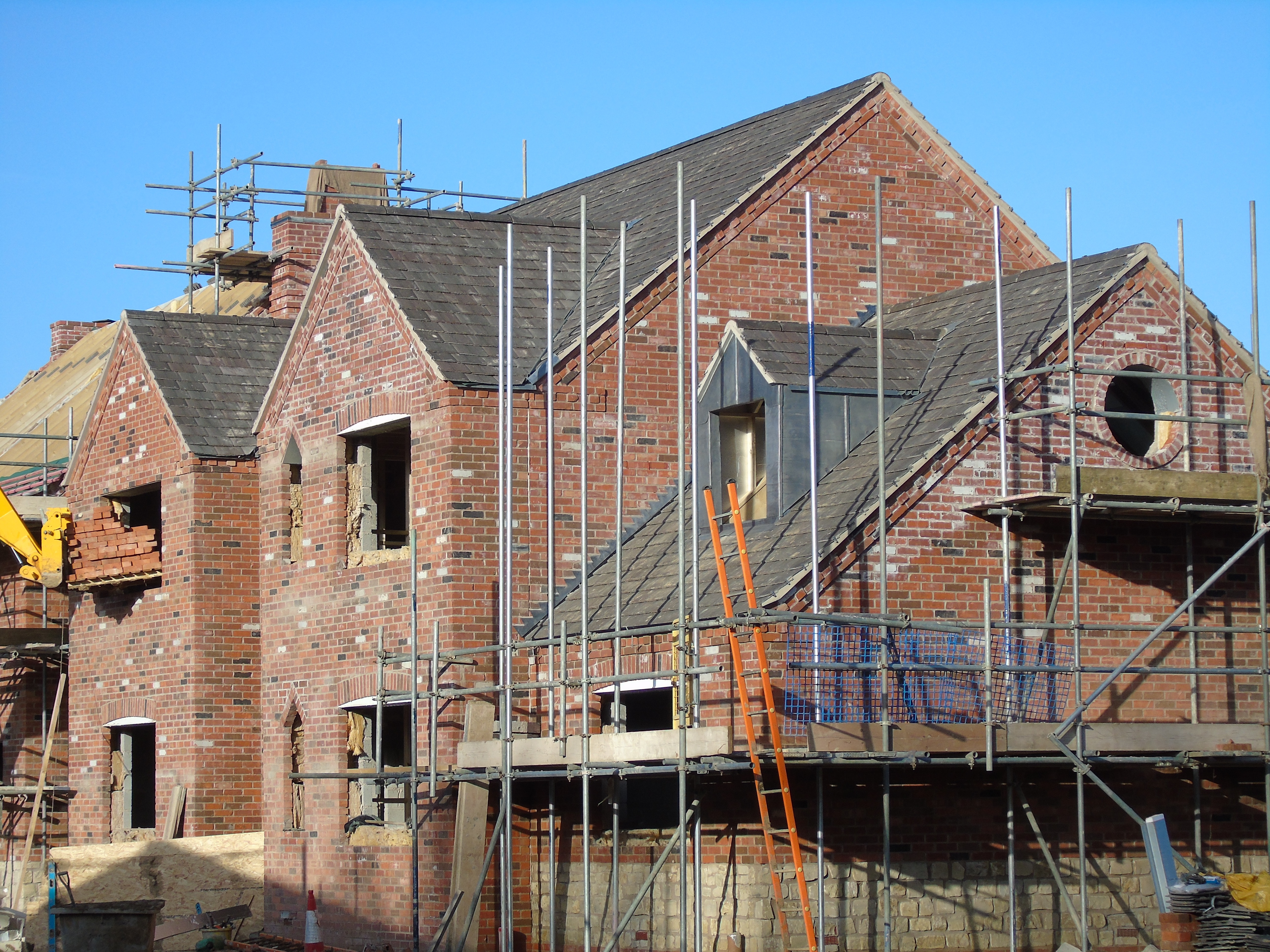 New build Roofing in Ettington