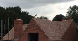 Reroof and extension Stratford Upon