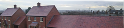 New Build Roof - Ashmore Farm house red