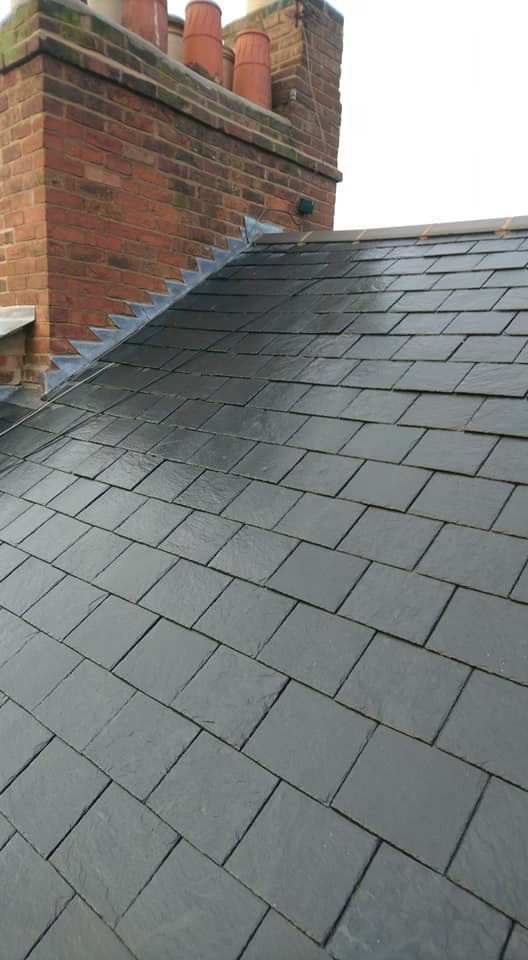 Slate Re Roof Leamington Spa