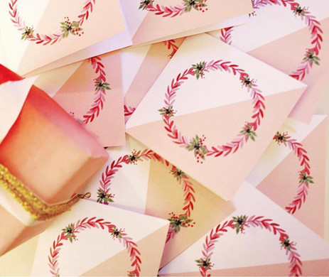 Andrea Woodlee Design Holiday Christmas Cards
