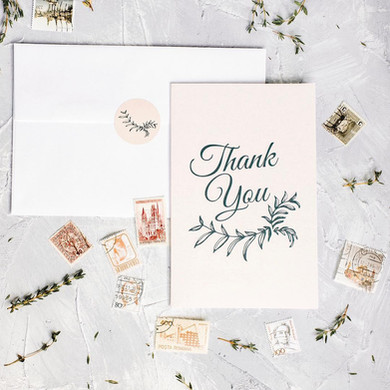 Andrea Woodlee Design Thank You Cards