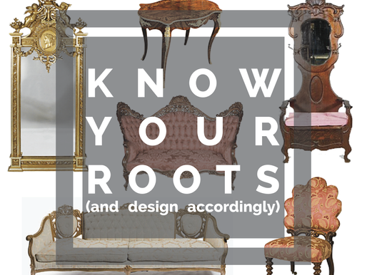 Know Your Roots (and design accordingly)