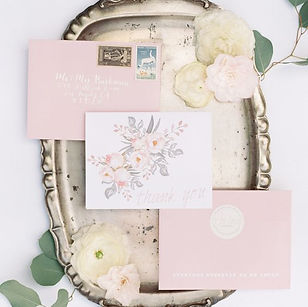 Andrea Woodlee Design Stationery Thank You Cards