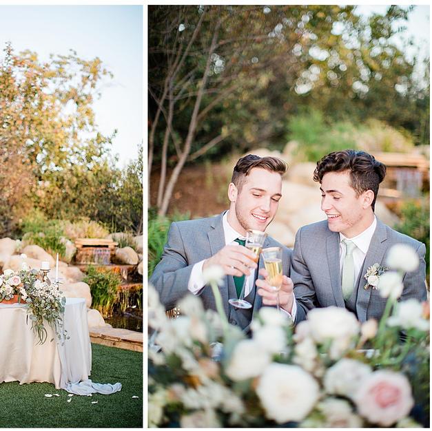 Dreamy California Wedding Shoot by Love Inc.