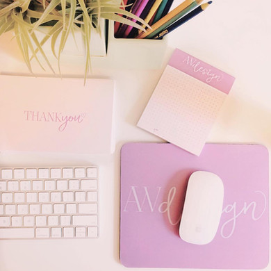 Andrea Woodlee Design Branding Thank You Cards
