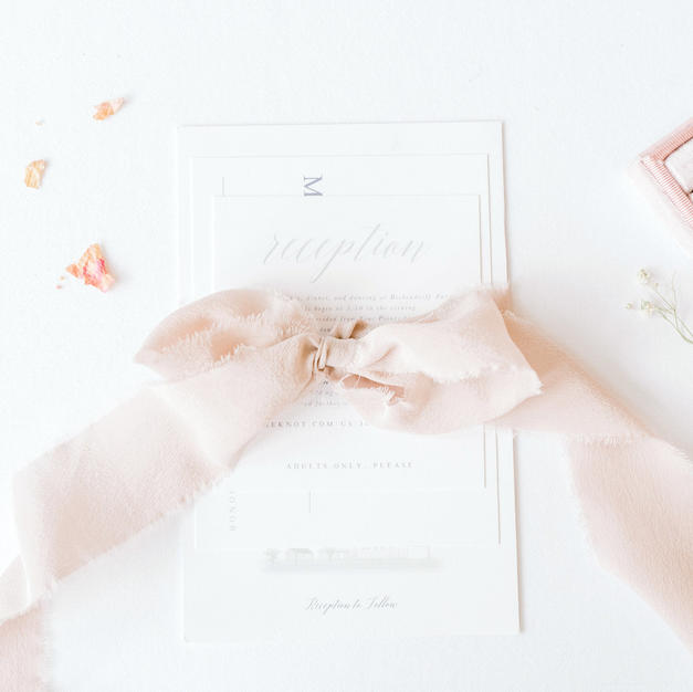 Hiring a Custom Stationer by To Be Loved Events