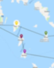 One week charter Cyclades