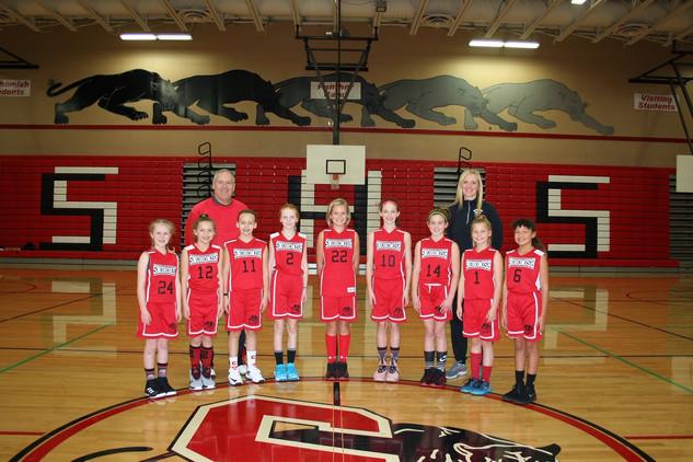 5th Grade Girls
