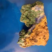 AZURITE (bleu) MALACHITE (vert) 25€