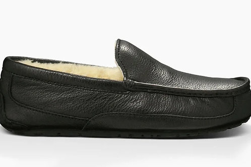 Ugg Ascot Leather Slipper Black