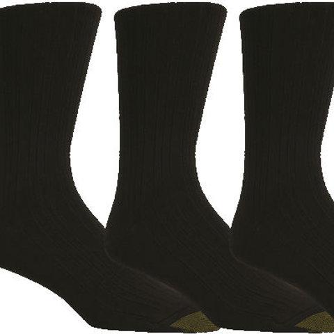 Gold Toe Milan Comfort Top Dress Socks 3 Pack