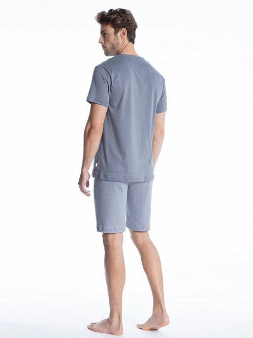 "Calida ""Casual Smart"" Short Sleeve Crew Neck"