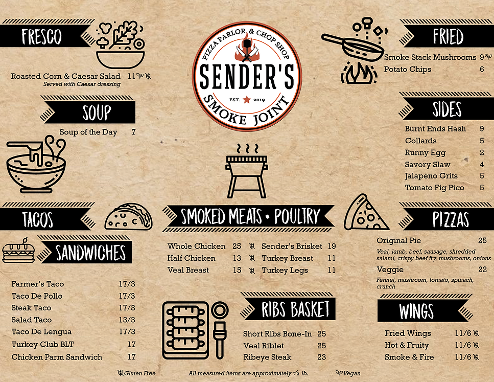 menu almost done worked on with changes