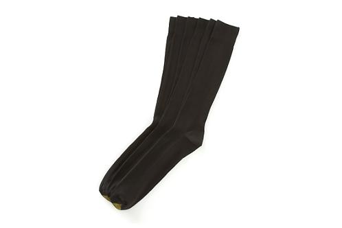 Gold Toe Metropolitan Extended Size Dress Socks 3 Pack Black