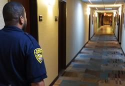 Foot Patroling at the Hotel 2015