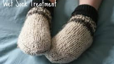 Hydrotherapy - Wet Sock