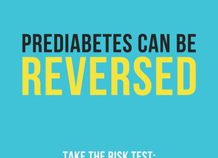 Q: I have prediabetes. How can I turn it around?