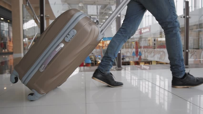 Get steps at the airport.