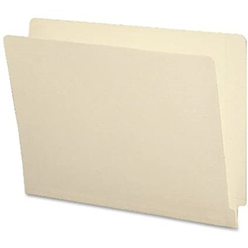 End Tab Folder FF1180R, Letter Size, Color Manila, 100 Pkg