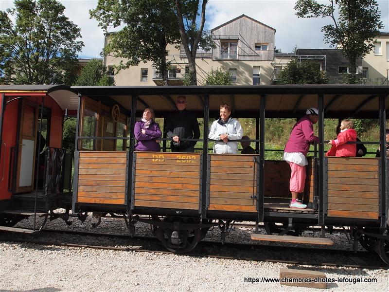 Petit train touristique La Galoche