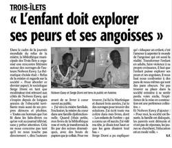 Intervention auteure France-Antilles