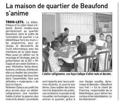 Atelier calligramme France-Antilles